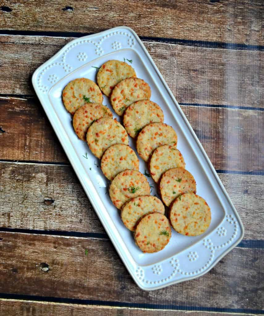 These Cheddar Herb Biscuits pack a ton of flavor!