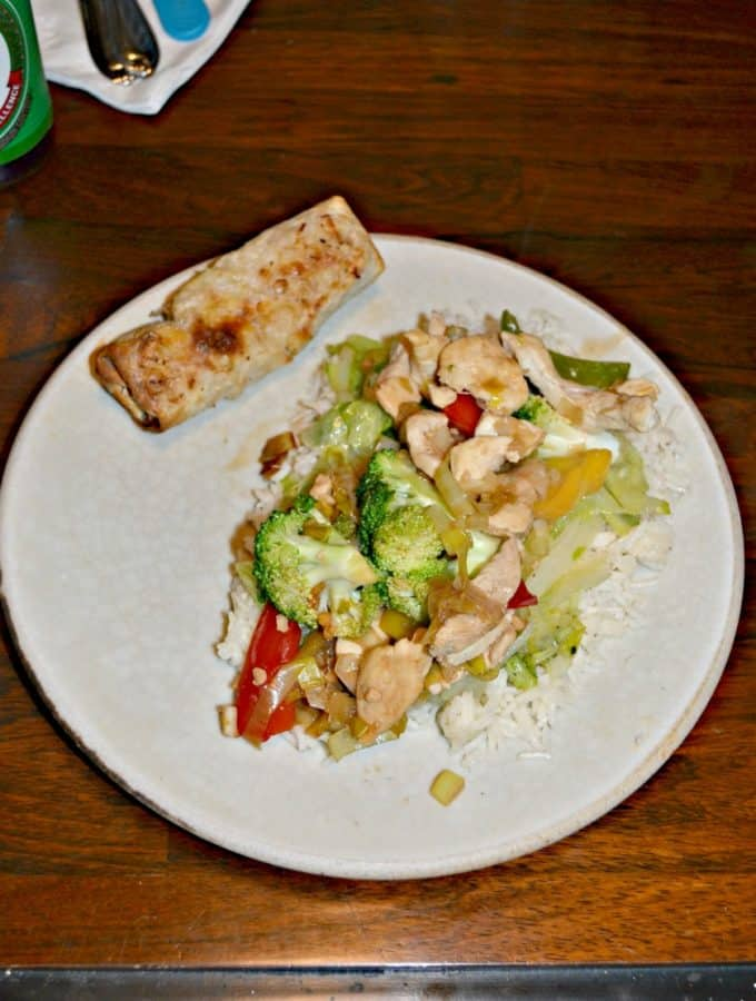 Looking for a weeknight meal? Check out my Chicken Stir Fry with Leeks and Salt & Pepper Lettuce