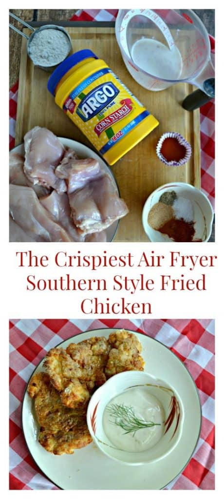 It's easy to make this mouthwatering Crispiest Air Fryer Southern Style Fried Chicken recipe
