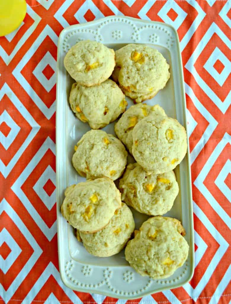 Have extra peaches? Try these Peach Ginger Cookies!