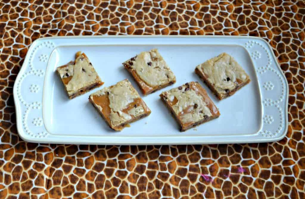 I can't get enough of these Salted Caramel Brown Butter Chocolate Chip Bars