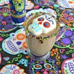 Day of the Dead Mexican Hot Cocoa #HalloweenTreatsWeek