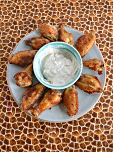 Air Fryer Salt and Vinegar Wings