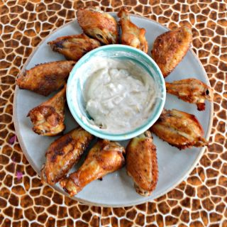 Looking for an easy but delicious Game Day recipe? Check out my Air Fryer Salt and Vinegar Wings!