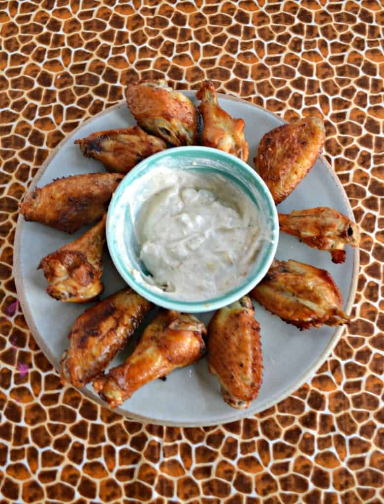 Check out these Air Fryer Salt and Vinegar Wings...you'll never go back to fried!