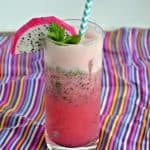 Dragon Fruit Pomegranate Mojito #FreakyFruitsFriday