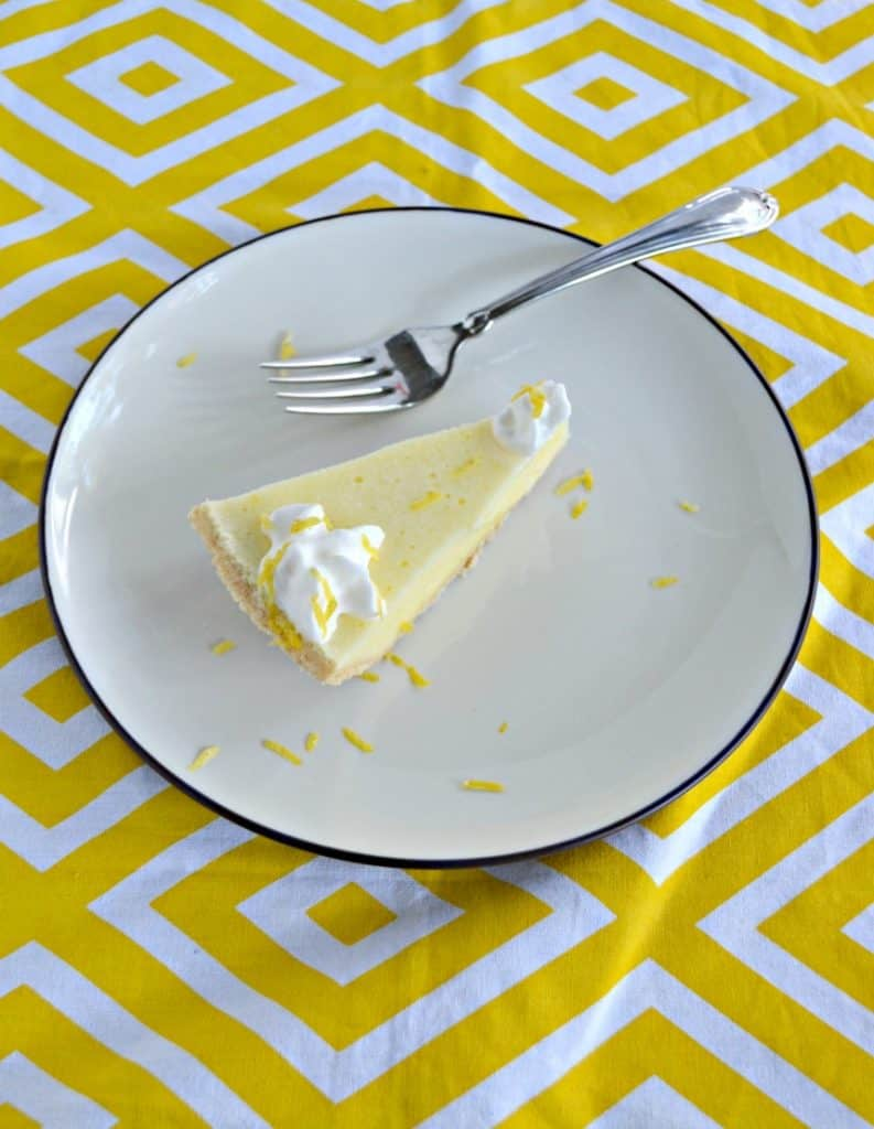 Grab a fork and dig into this Lemon Chiffon pie