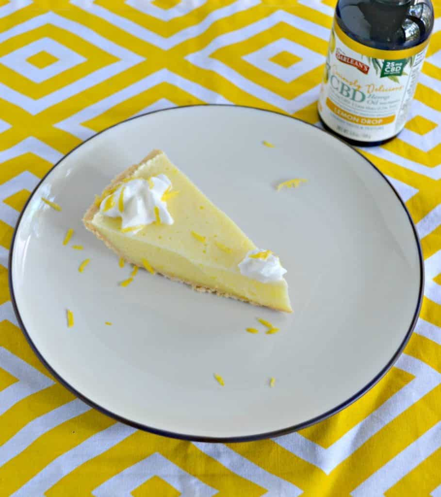 I can't get enough of this flavorful and light Lemon Chiffon Pie