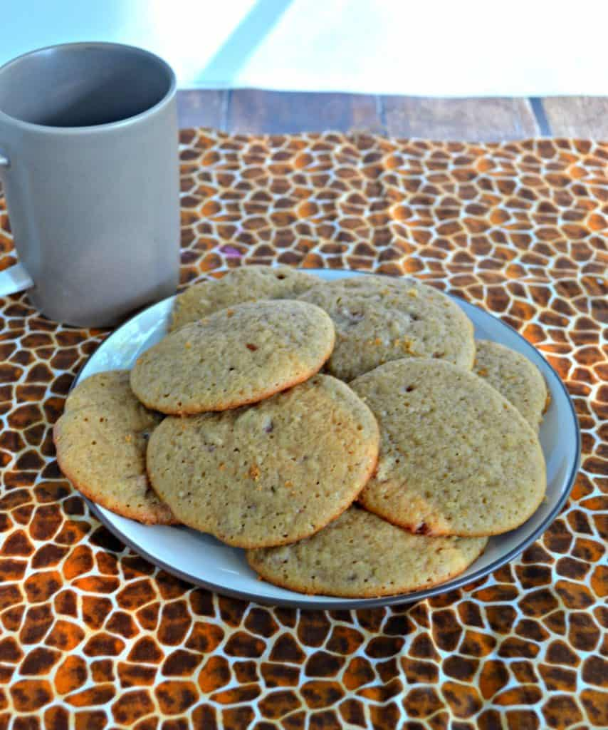 Cinnamon Maple Pecan Cookies