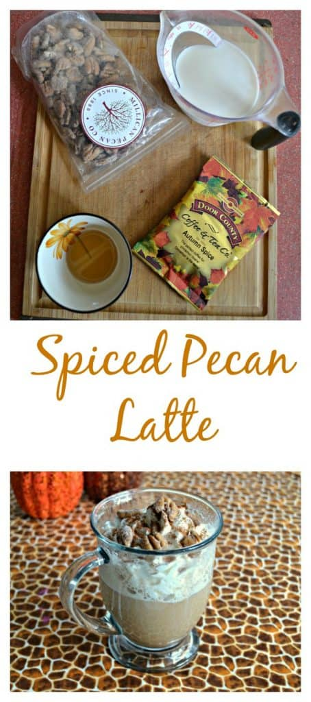 It's easy to make Spiced Pecan Lattes!