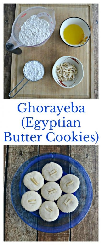 There's only 3 ingredients in these melt in your mouth Ghorayeba (Egyptian butter Cookies)