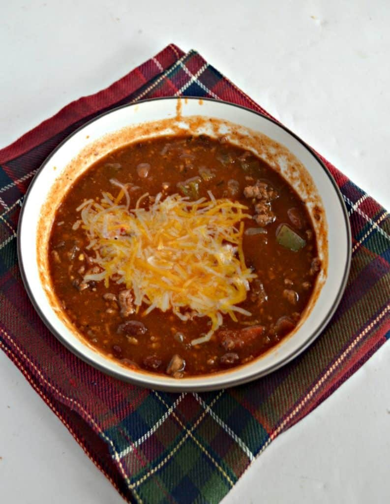 Looking for the perfect chili recipe this winter? Check out my Garden Fresh Chili!