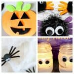 Halloween Crafts for Toddlers:   Toddler Tuesdays