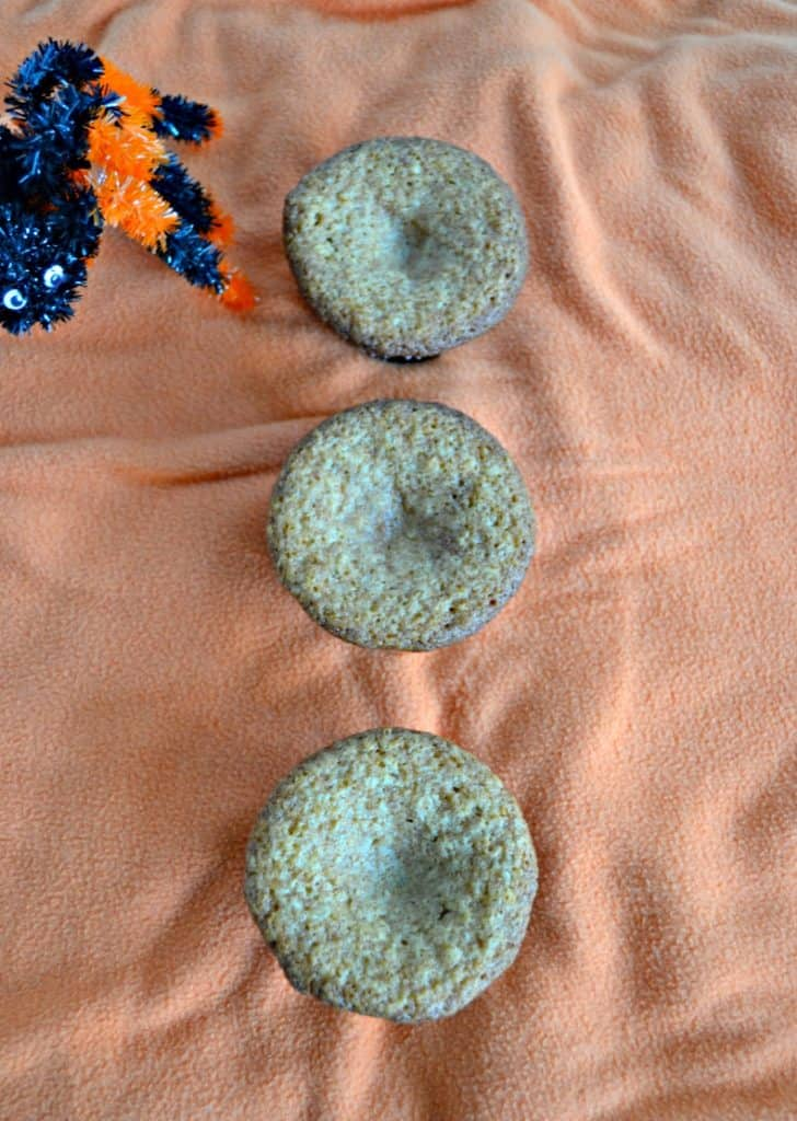 Caramel Spice Halloween Cupcakes