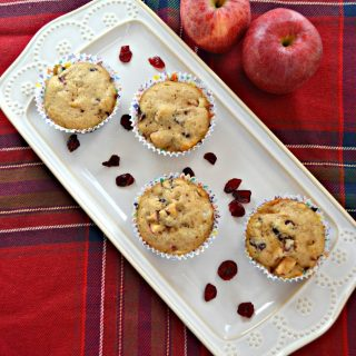 Bite into an Apple Cranberry Muffin