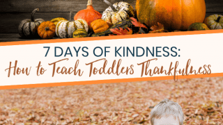 Teaching Toddlers Thankfulness With 7 Thankful Days