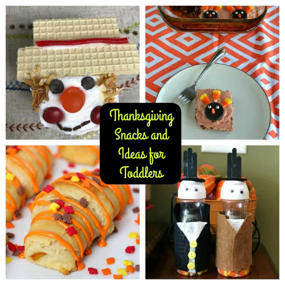 Thanksgiving Snack and Ideas for Toddlers