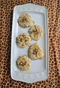 Caramel Butter Pecan Cookies #ChristmasCookies