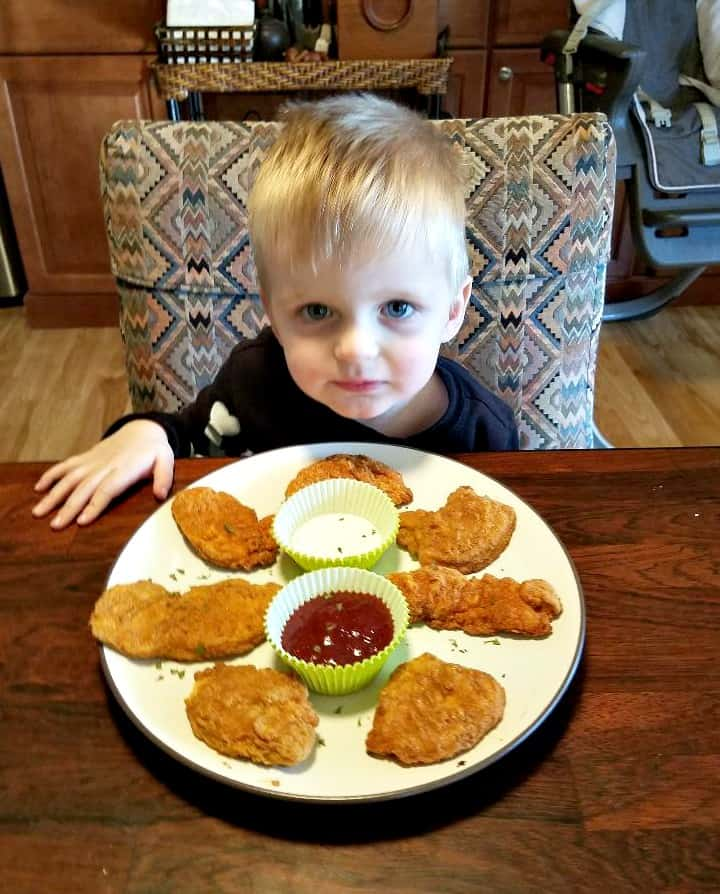 Even toddlers love CAULIPOWER Chicken Tenders