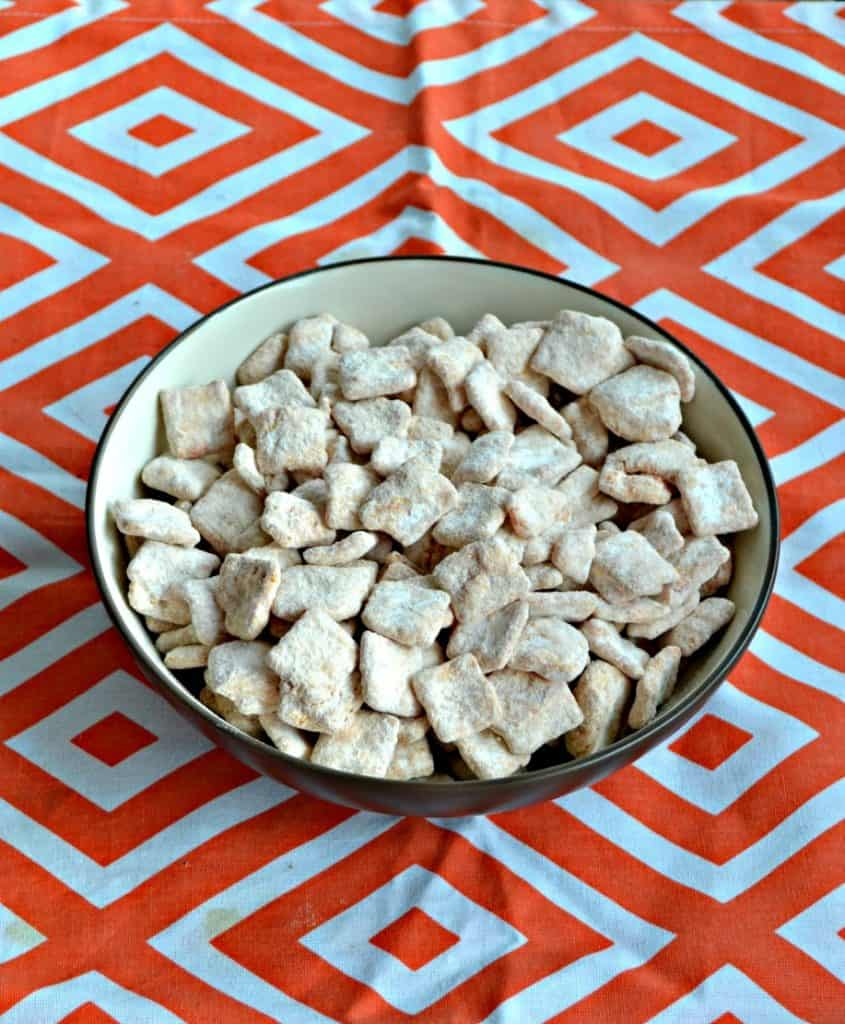Dig into Creamsicle Puppy Chow