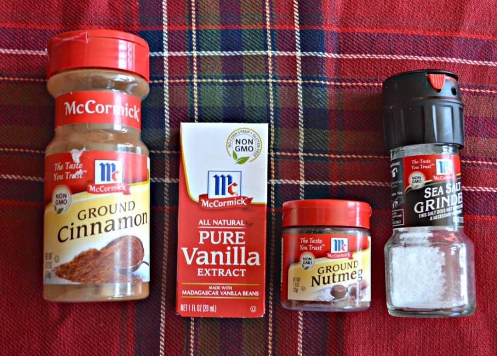 McCormick Spices for desserts