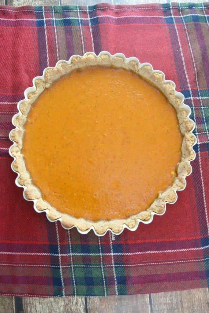 Pecan Sandie Pumpkin Pie
