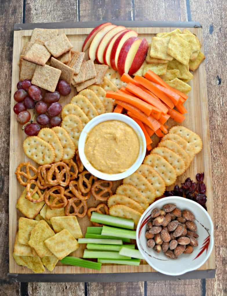 Make this fabulous Pub Cheese Charcuterie Platter for the holidays!