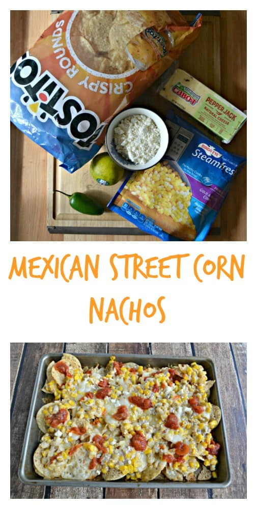 Everything you need to make Mexican Street Corn Nachos
