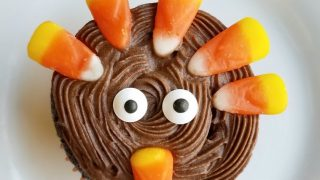 How To Make Cute Tom the Turkey Cupcakes