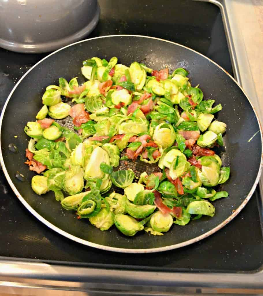 Bacon and Brussels Sprouts Stuffing