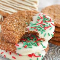 Soft & Chewy Ginger Molasses Cookies