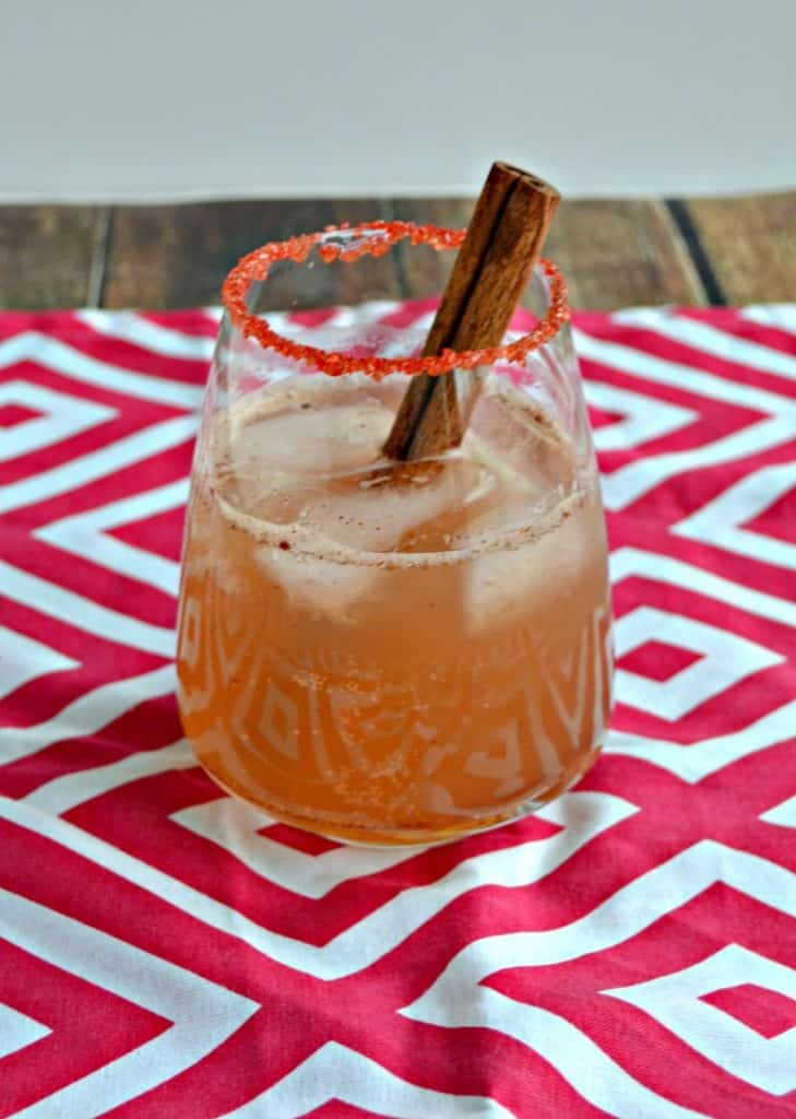 Sip on this delightful Apple Whiskey Smash