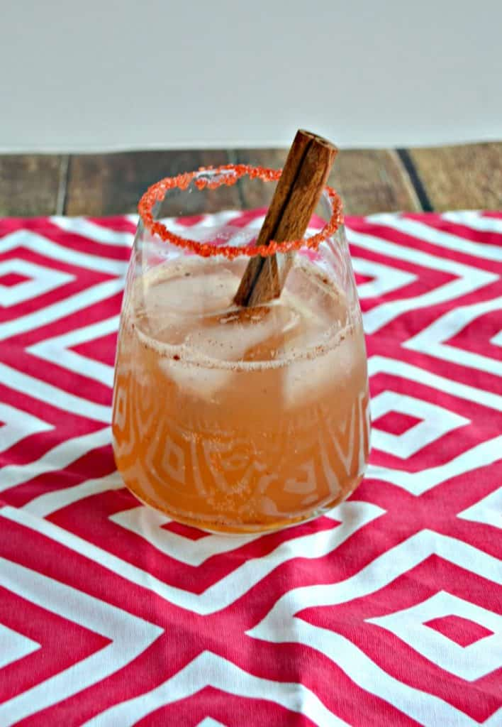 Fall is here with this Apple Whiskey Smash