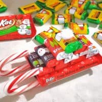 Christmas Candy Sleigh - Everyday Shortcuts