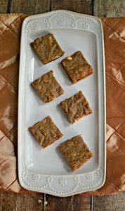 Cinnamon Caramel Latte Blondies