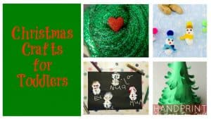 Christmas Crafts for Toddlers:  Toddler Tuesdays