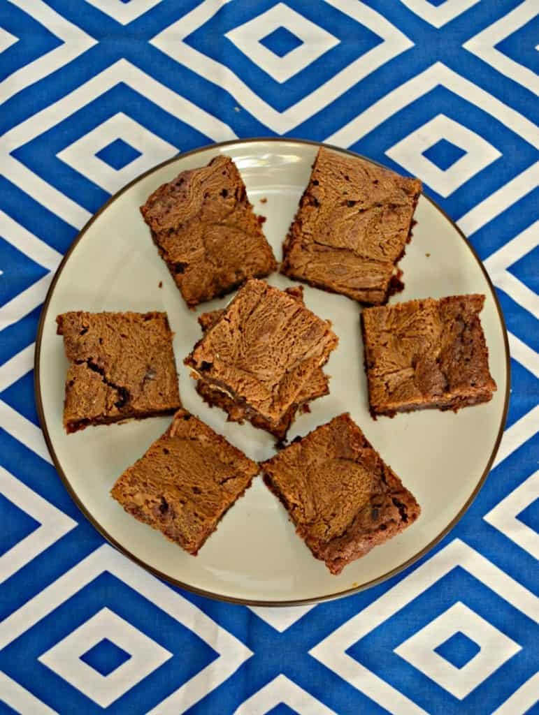 Cookie Butter Brownies