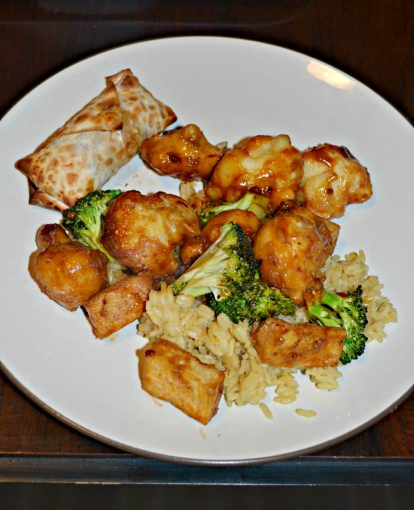 General Tso's Tofu and Cauliflower