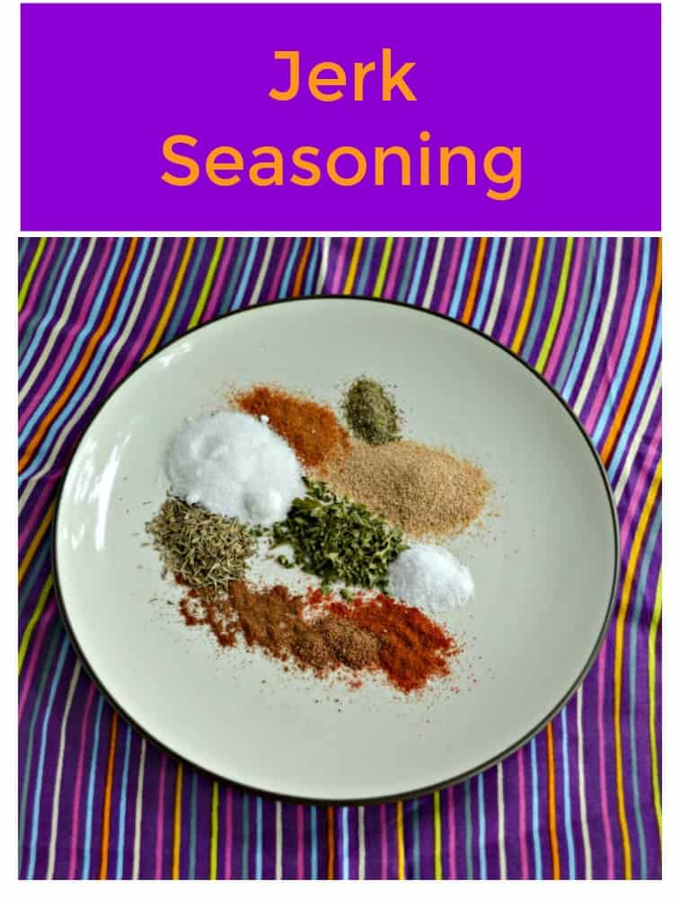 Everything you need to make Jerk Seasoning