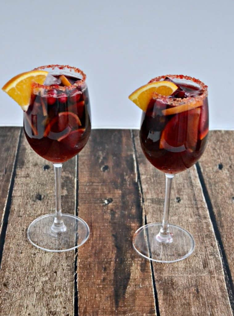 Take a sip of this delicious Orange Cranberry Sangria