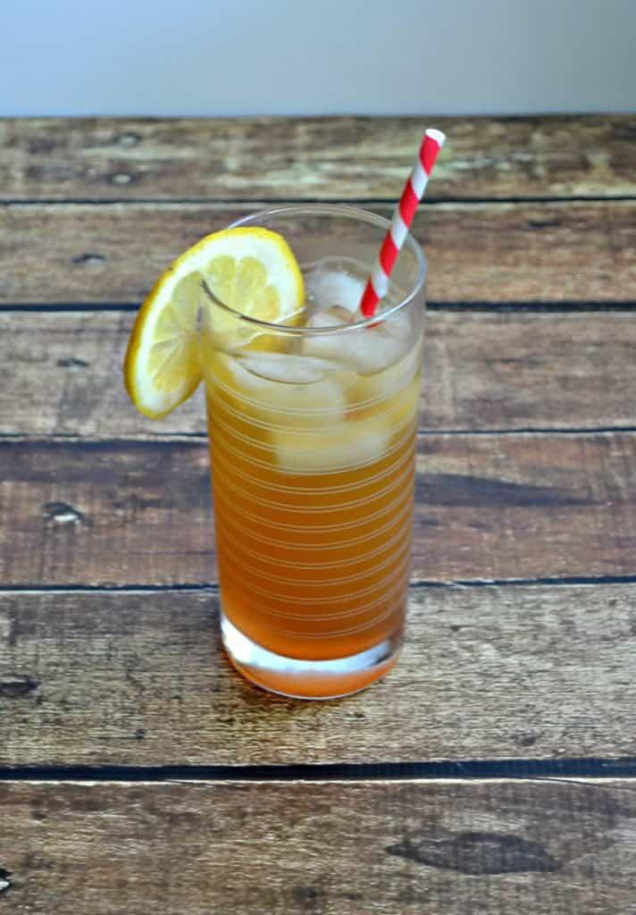 Sip on Peach Bourbon Tea