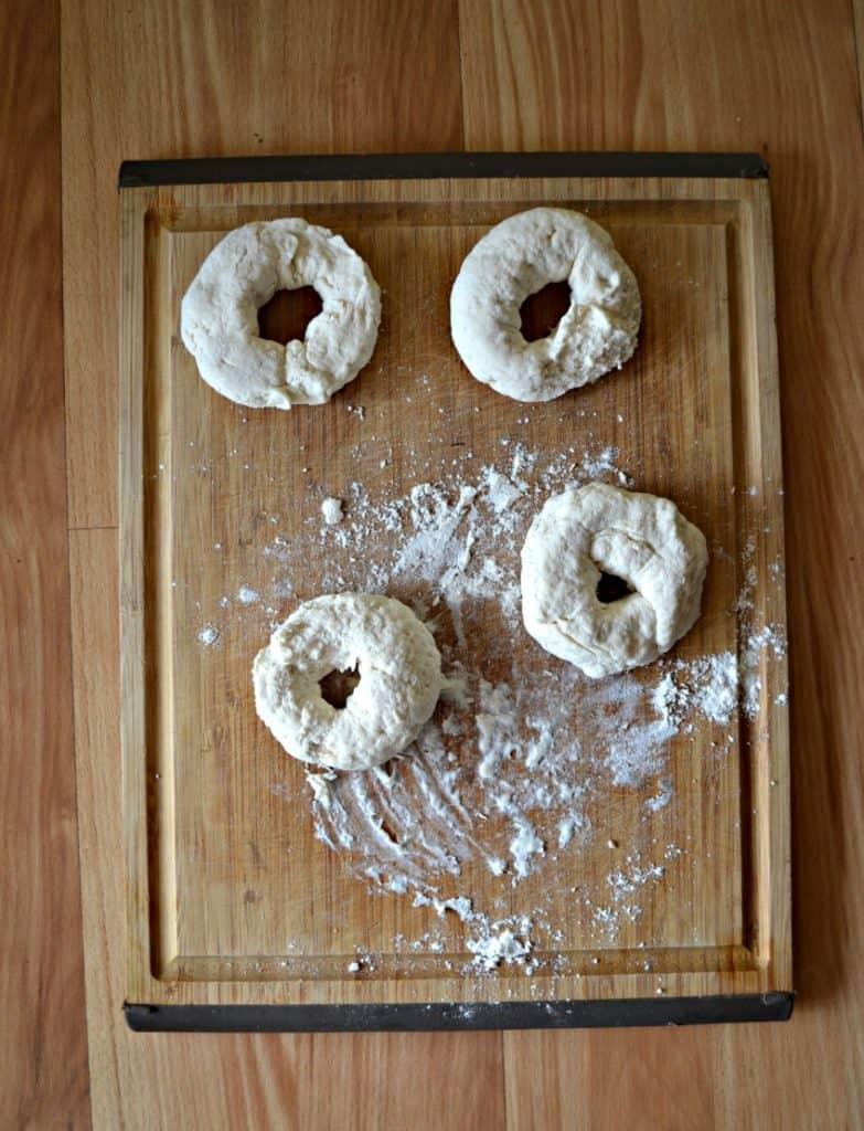 Air Fryer Bagels