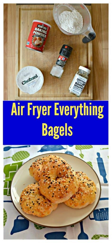 Everything you need to make Air Fryer Bagels