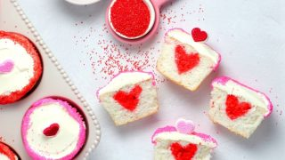 surprise cupcakes | Sheri Silver - living a well-tended life... at any age