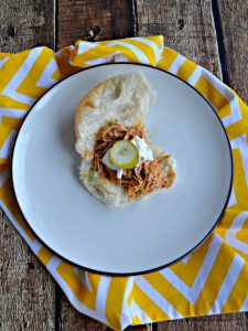 Slow Cooker Nashville Hot Chicken Sliders