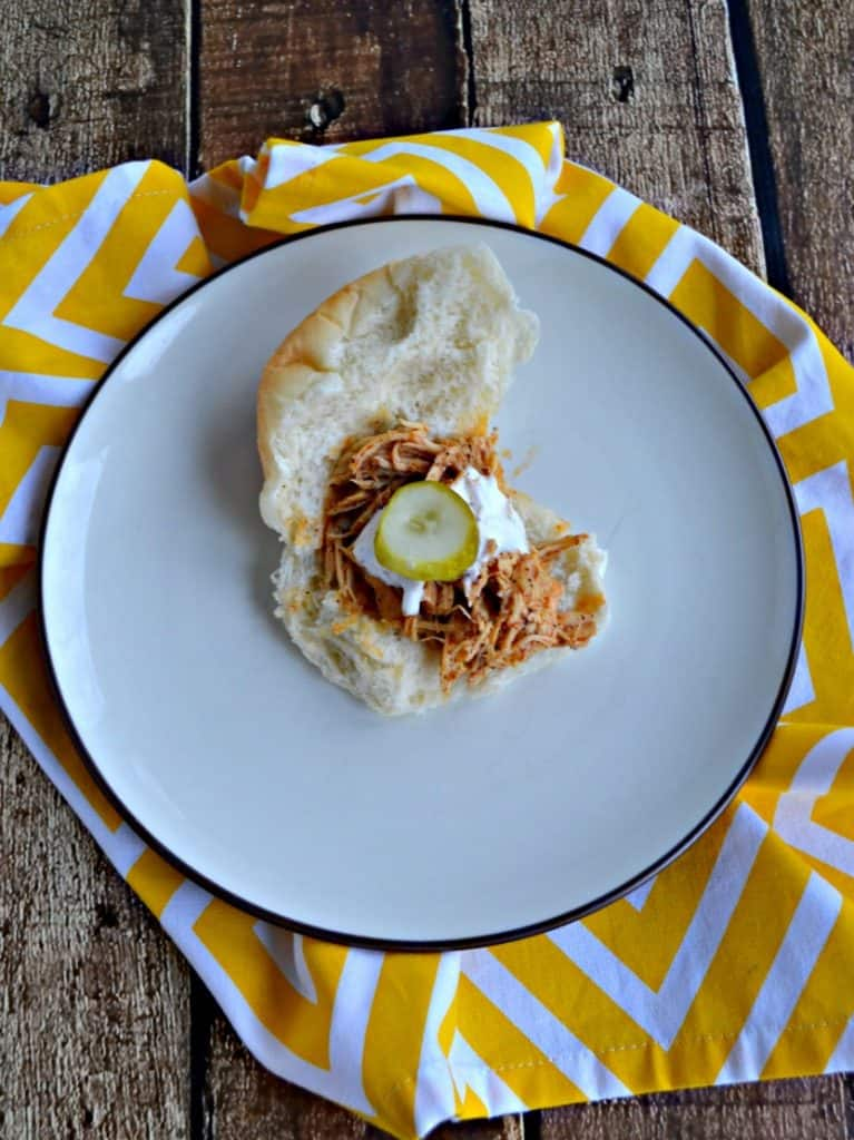 GameDay with Slow Cooker Nashville Hot Chicken Sliders