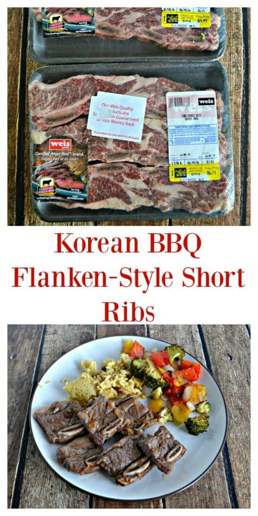 Korean BBQ Flanken-Style Short Ribs are ready in snap.