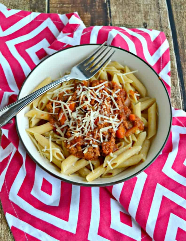 Dig into Slow Cooker Bolognese