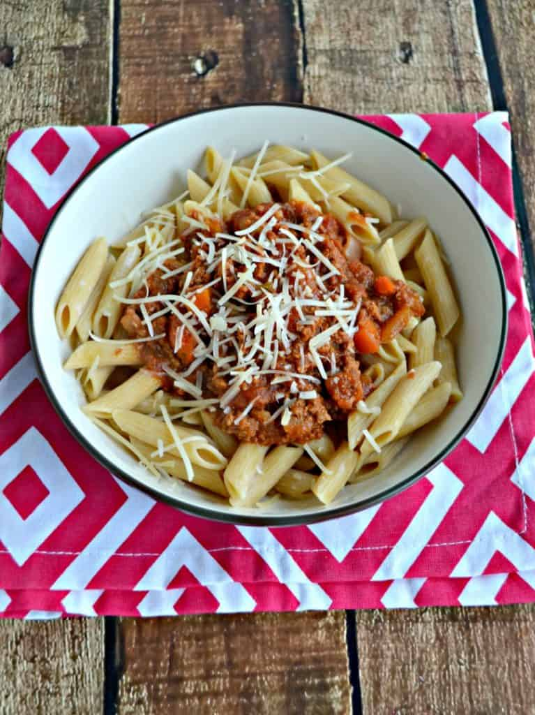 Slow Cooker Pasta Bolognese
