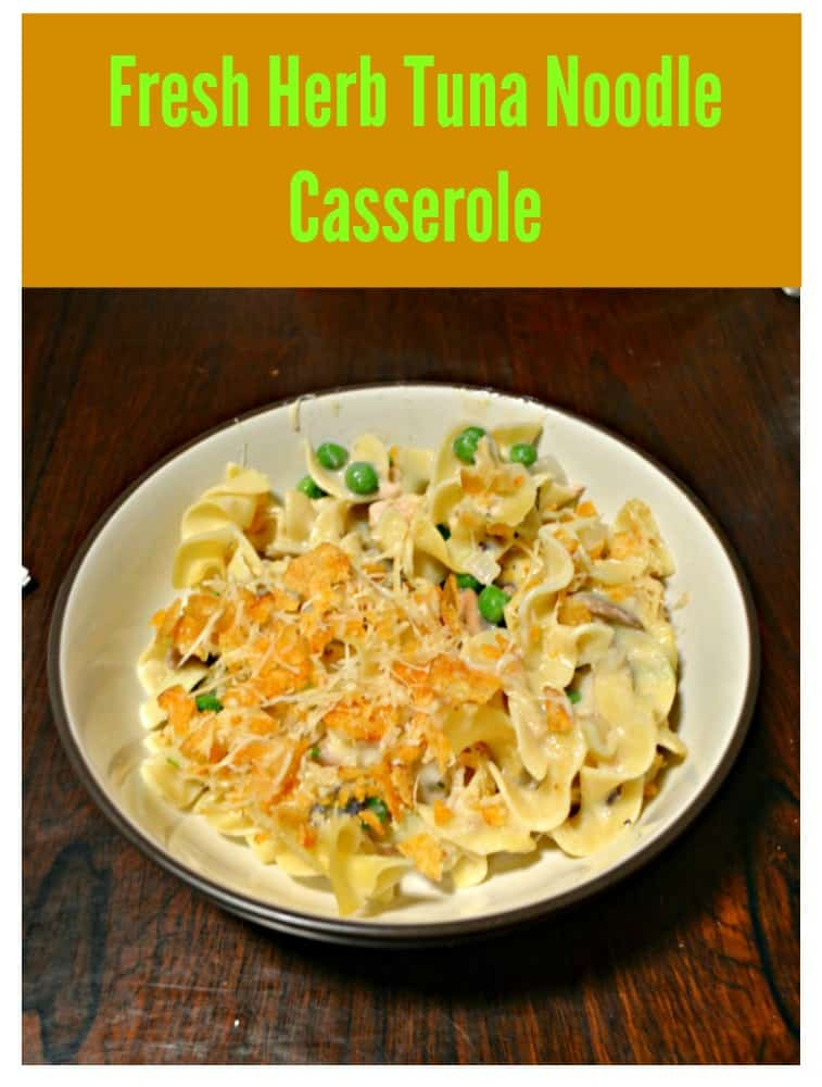 Tuna Noodle Casserole with Herbs